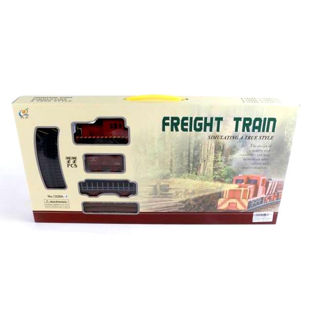Железная дорога Freight Train (звук), 77 деталей