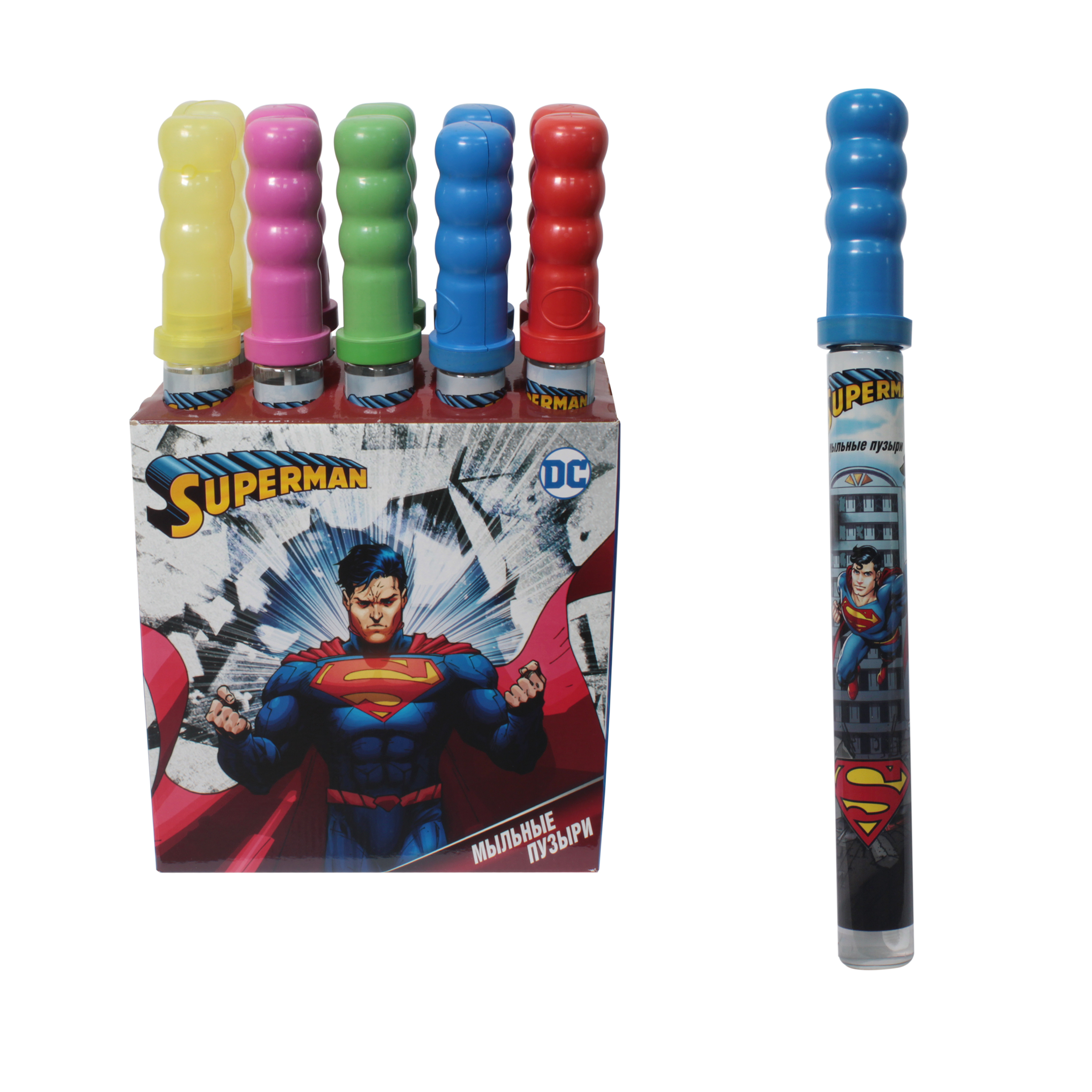 "Мыльные пузыри ""Супермен"", 200 мл"