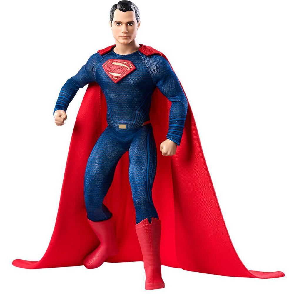 """Коллекционная кукла Барби """"Бэтмен против Супермена"""" - Супермен, 27 см"""