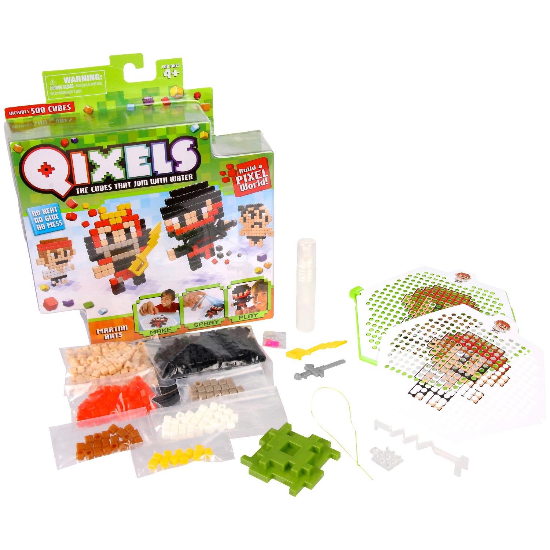 Набор для творчества Qixels - Боевые искусства
