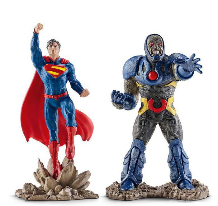 """Набор фигурок """"Лига Справедливости"""" - Супермен и Дарксайд"""