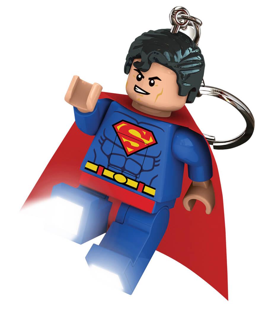 "Брелок-фонарик для ключей LEGO ""Супергерои"" - Супермен"