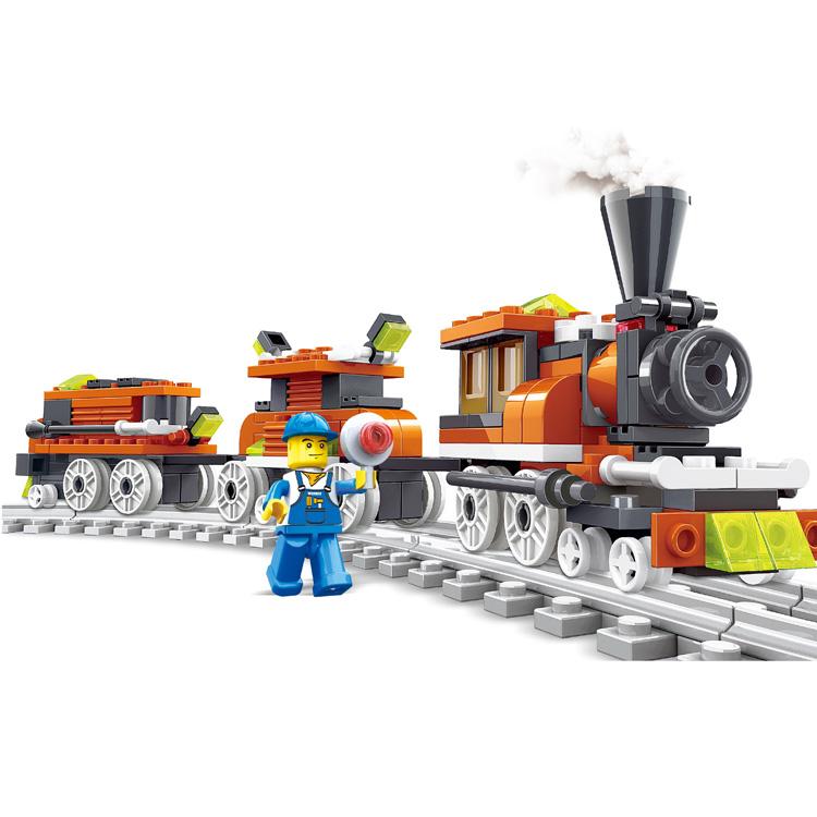 """Конструктор """"Поезд"""", 185 деталей"""