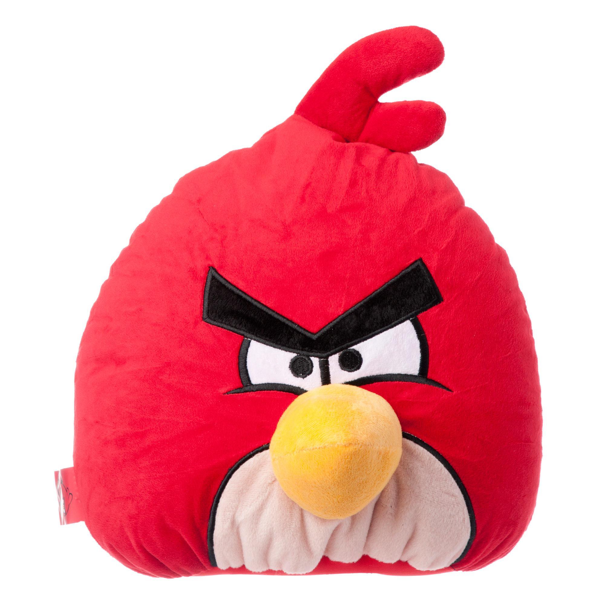 Декоративная подушка Angry Birds - Красная птица, 30 см