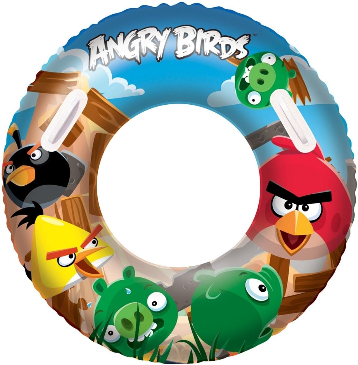 Надувной круг Angry Birds, 91 см