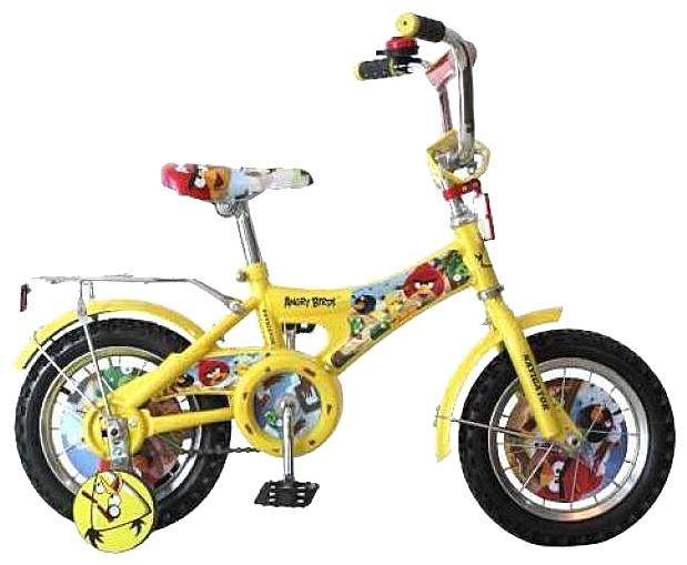 Велосипед Angry Birds, желтый