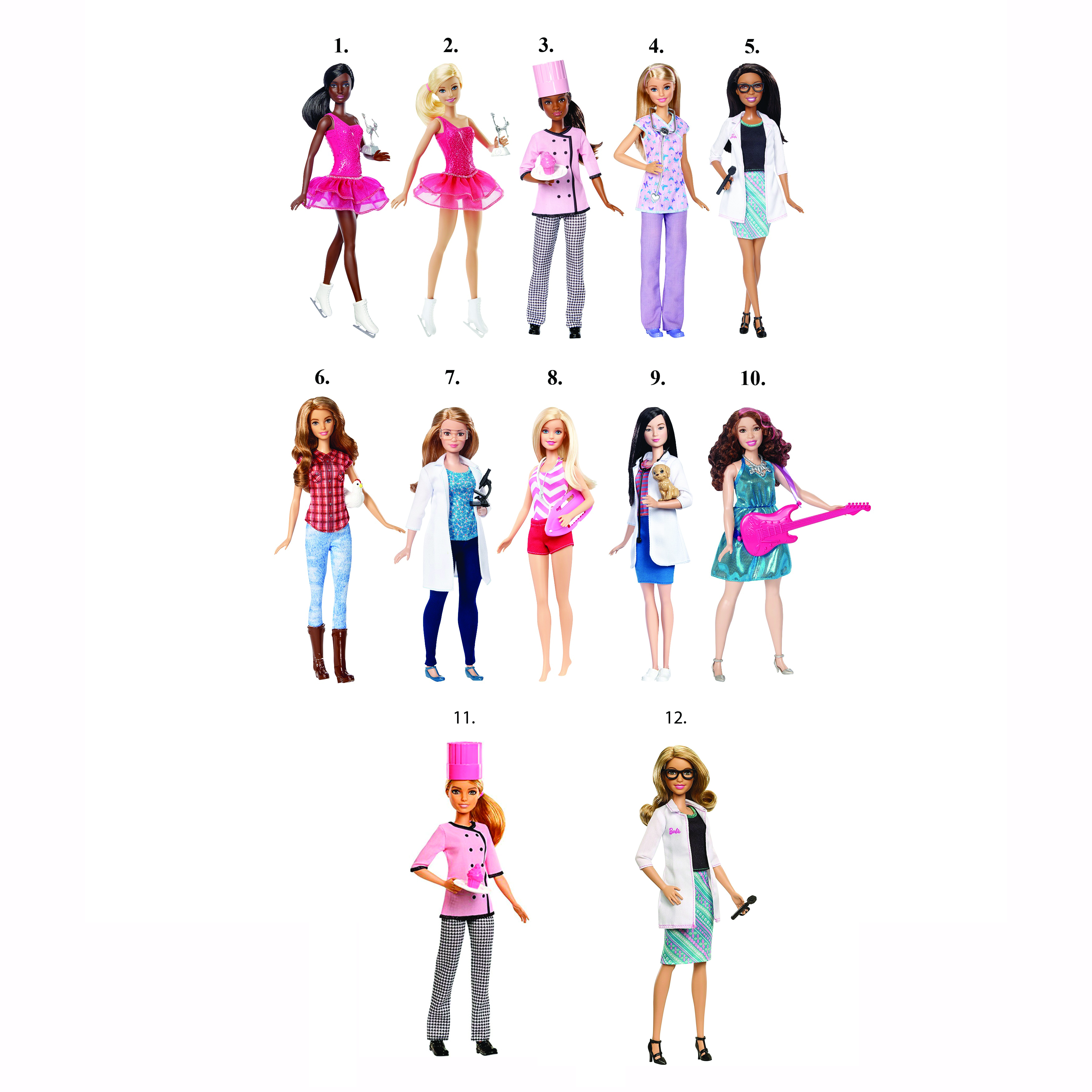 "Кукла Барби ""Кем быть?"""