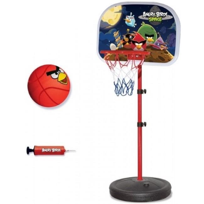 Игровой набор Angry Birds - Баскетбольная стойка с кольцом и мячом