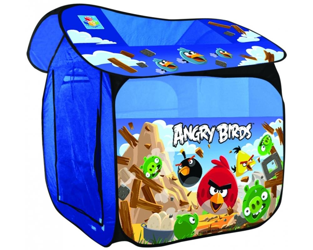 Детская игровая палатка Angry Birds