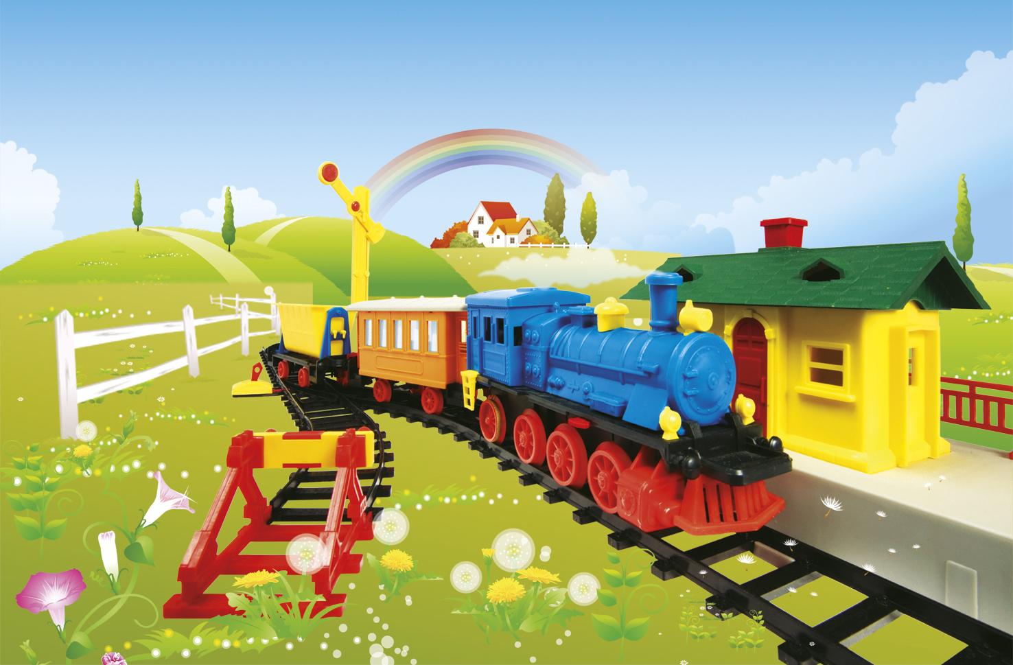 Картинка дети и железная дорога