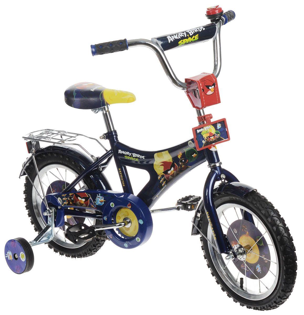 Велосипед Angry Birds, синий