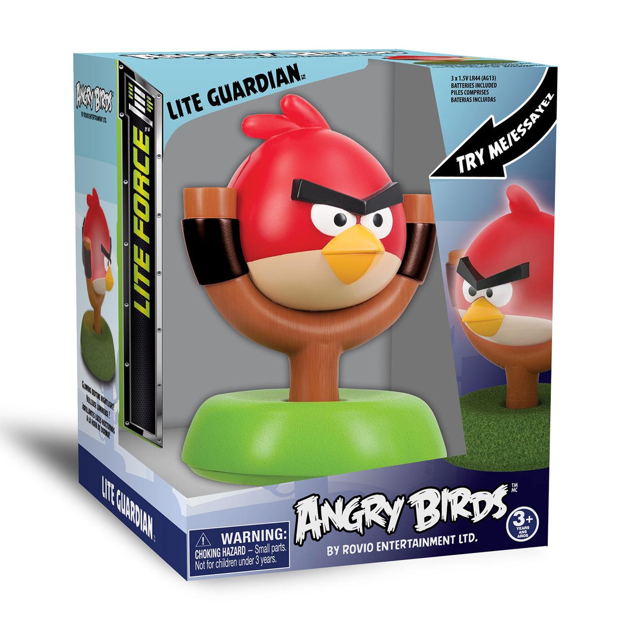 """Лампа-ночник детская Angry Birds """"Красный Хранитель"""""""