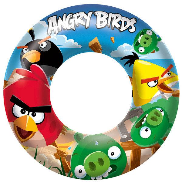 Надувной круг Angry Birds, 56 см