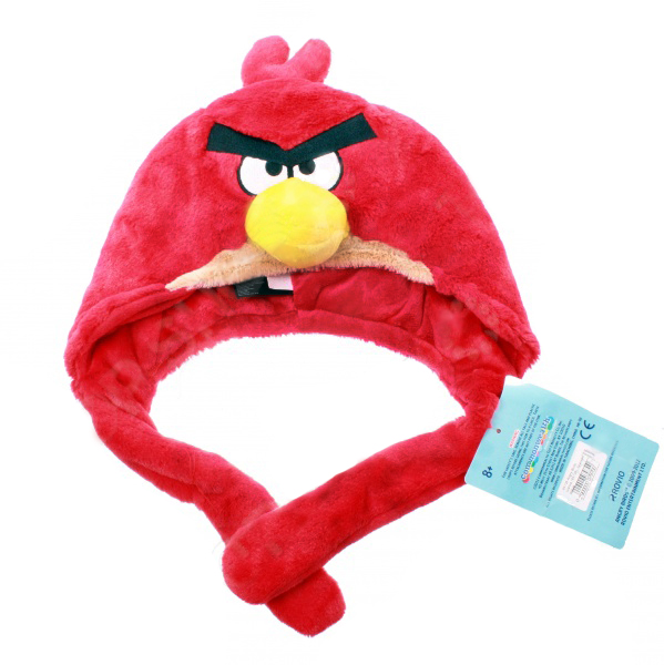 Шапка Angry Birds - Red