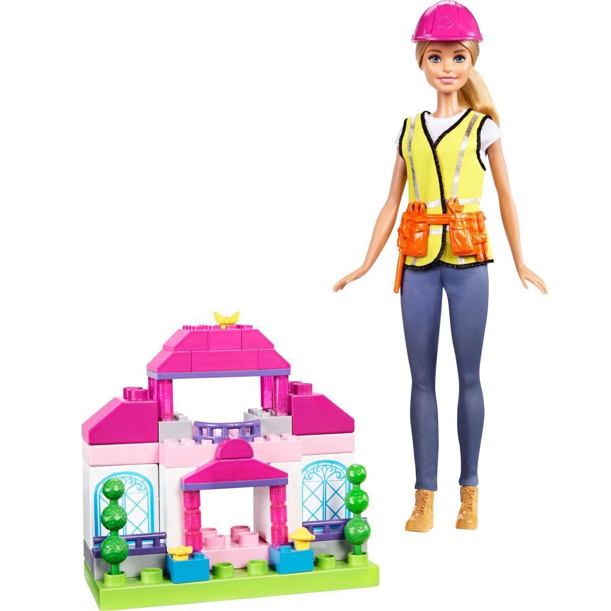 Кукла Барби Кем быть? - Строитель, 29 см
