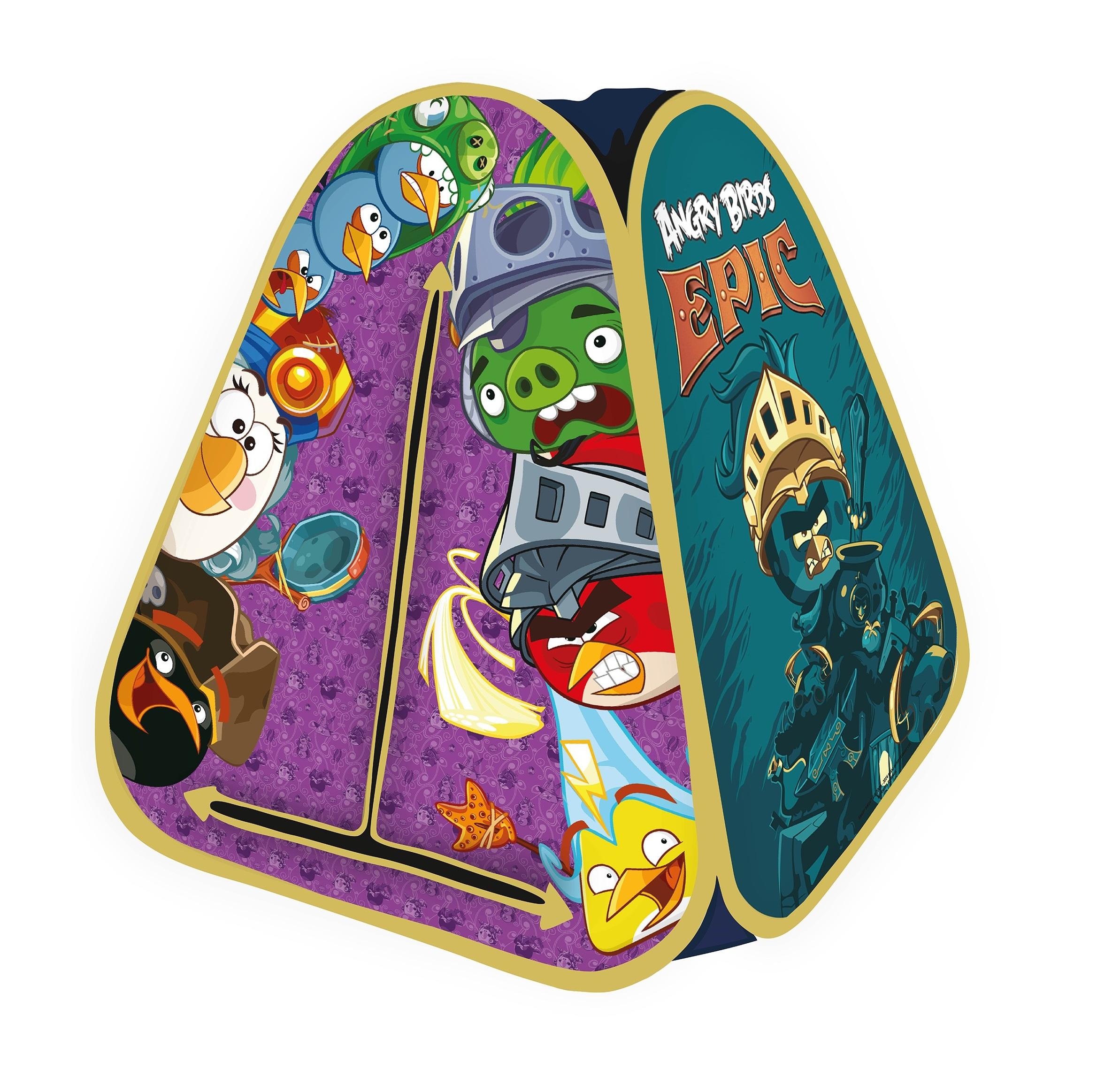 Детская игровая палатка Angry Birds Epic