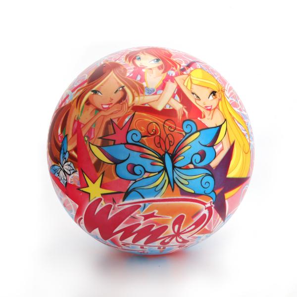 """Мяч """"Винкс"""" с бабочками, 23 см"""