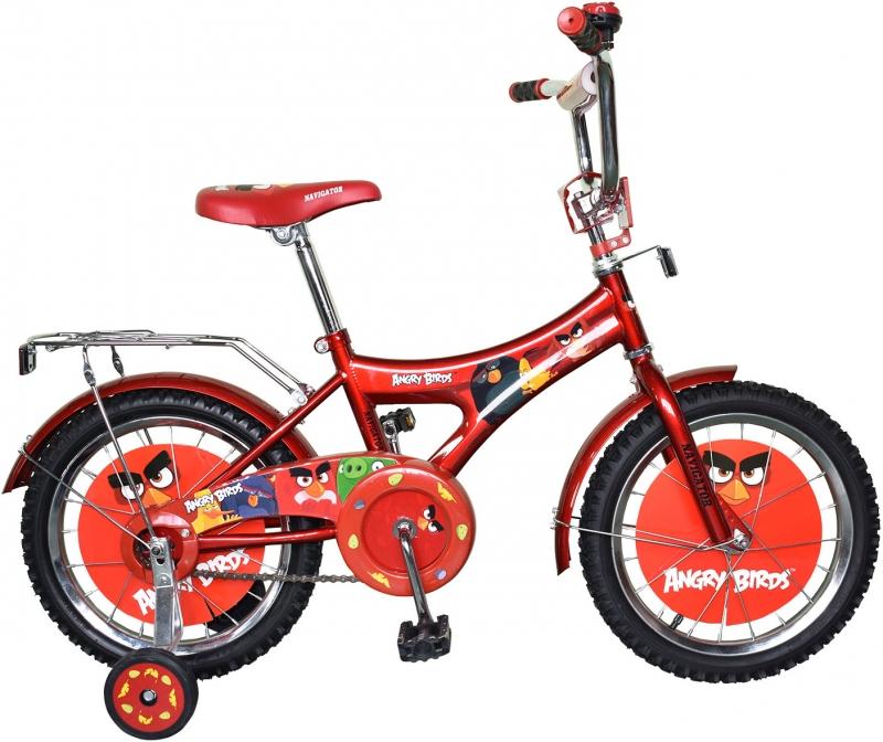 """Детский велосипед """"Энгри Бердз"""""""