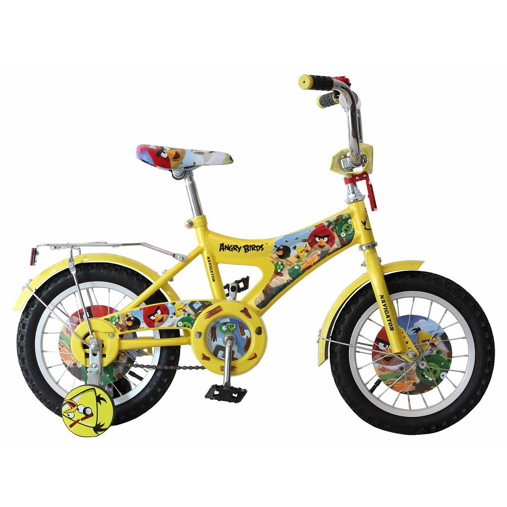 Велосипед Angry Birds - AB-1, желтый