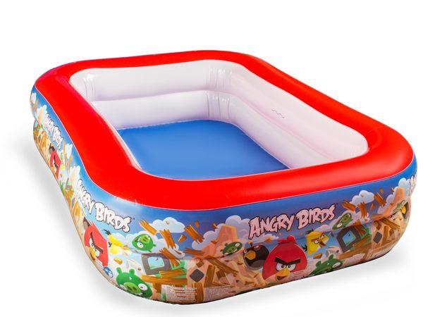 Надувной бассейн Angry Birds, 201 x 150 см