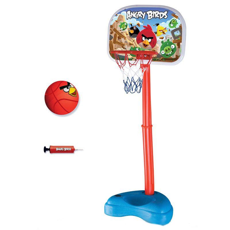 Игровой набор Angry Birds - Баскетбольная стойка с мячом и кольцом