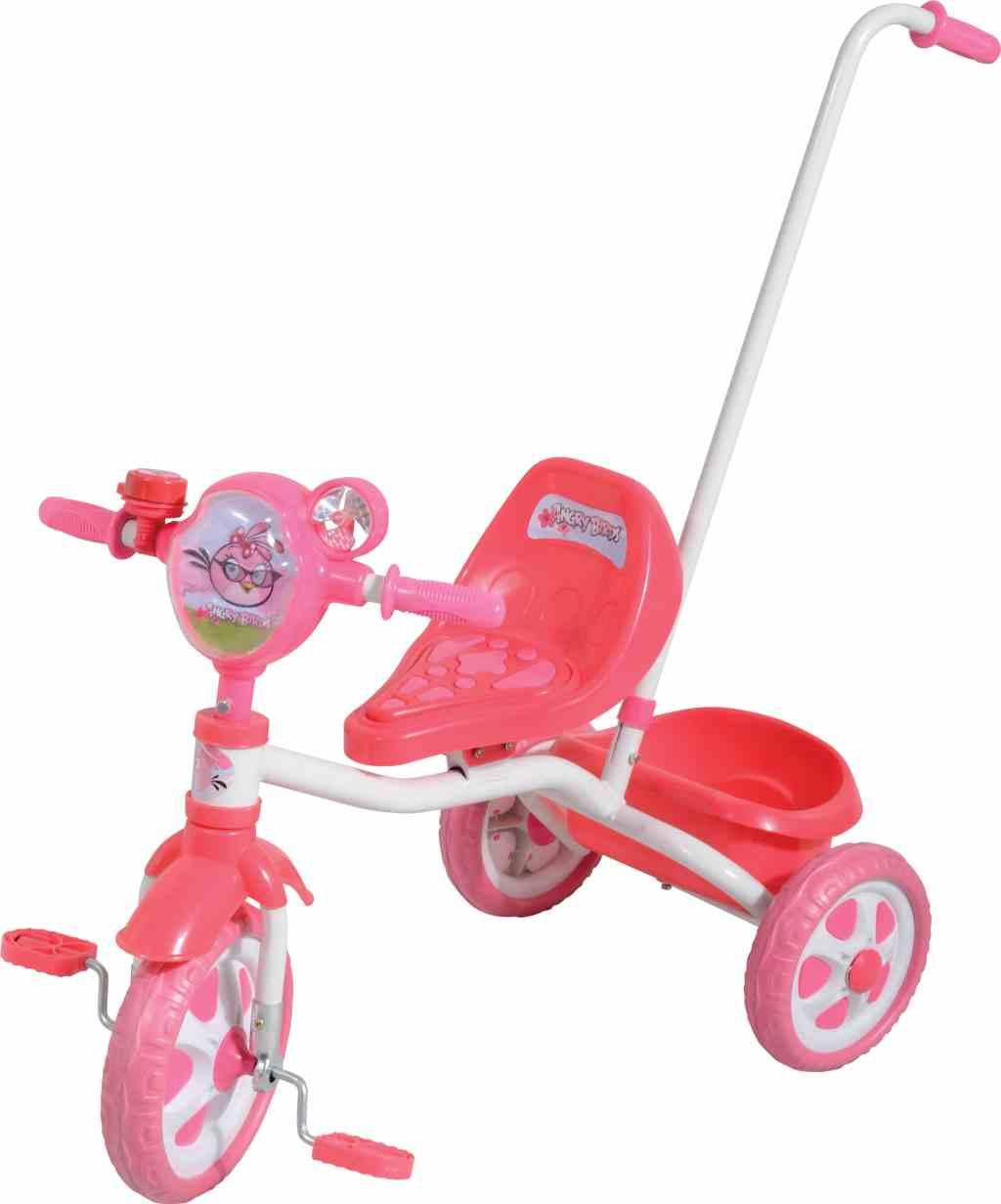 Трехколесный детский велосипед Angry Birds - Стелла