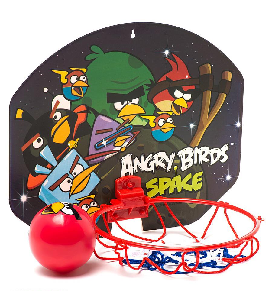 Игровой набор Angry Birds Space - Баскетбольный щит с кольцом