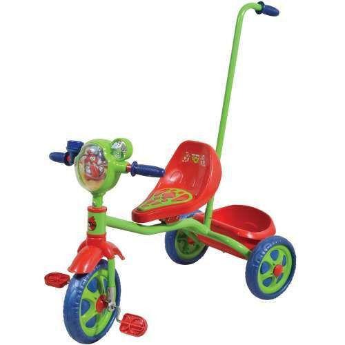 """Трехколесный велосипед с корзиной """"Энгри Бердз"""""""