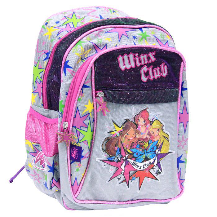 Школьный рюкзак с 2-мя отделениями Winx Club