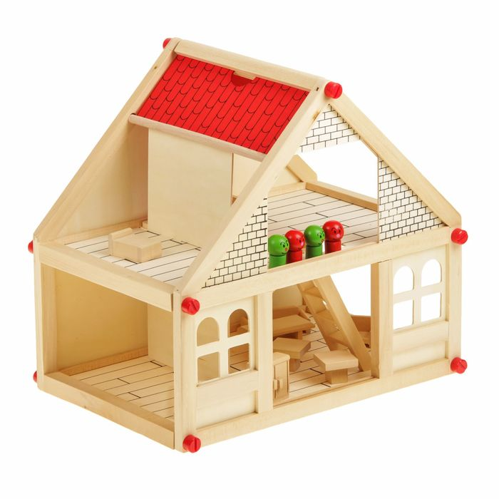 картинки кукольных деревянных домиков вечернее