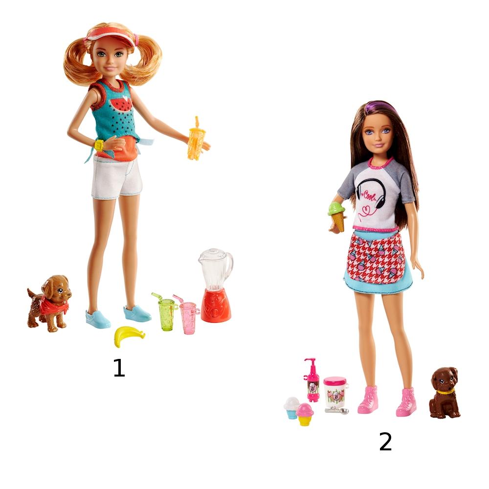 """Кукла Барби """"Сестры и щенки"""""""