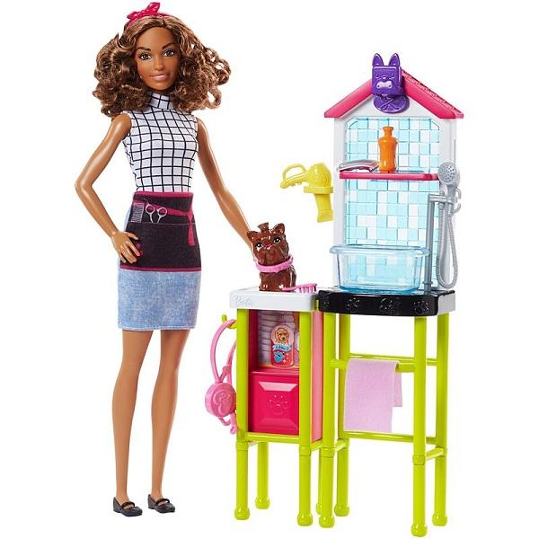 """Игровой набор """"Барби: Профессии"""" - Салон для собак"""