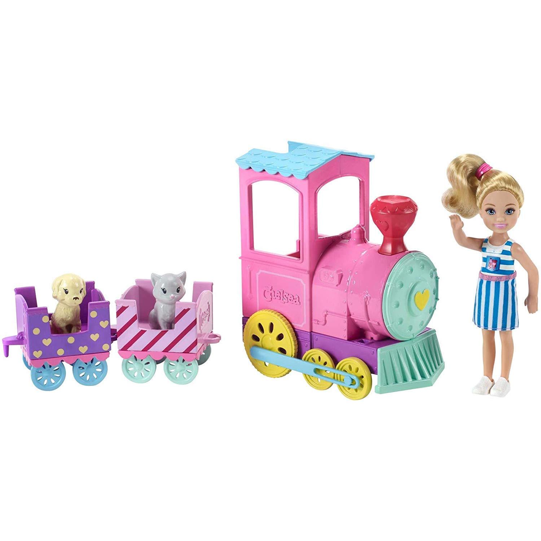 """Игровой набор Barbie """"Паровозик Челси"""""""