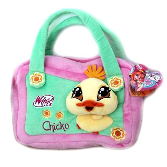 """Плюшевая сумка """"Винкс""""- Chicko"""