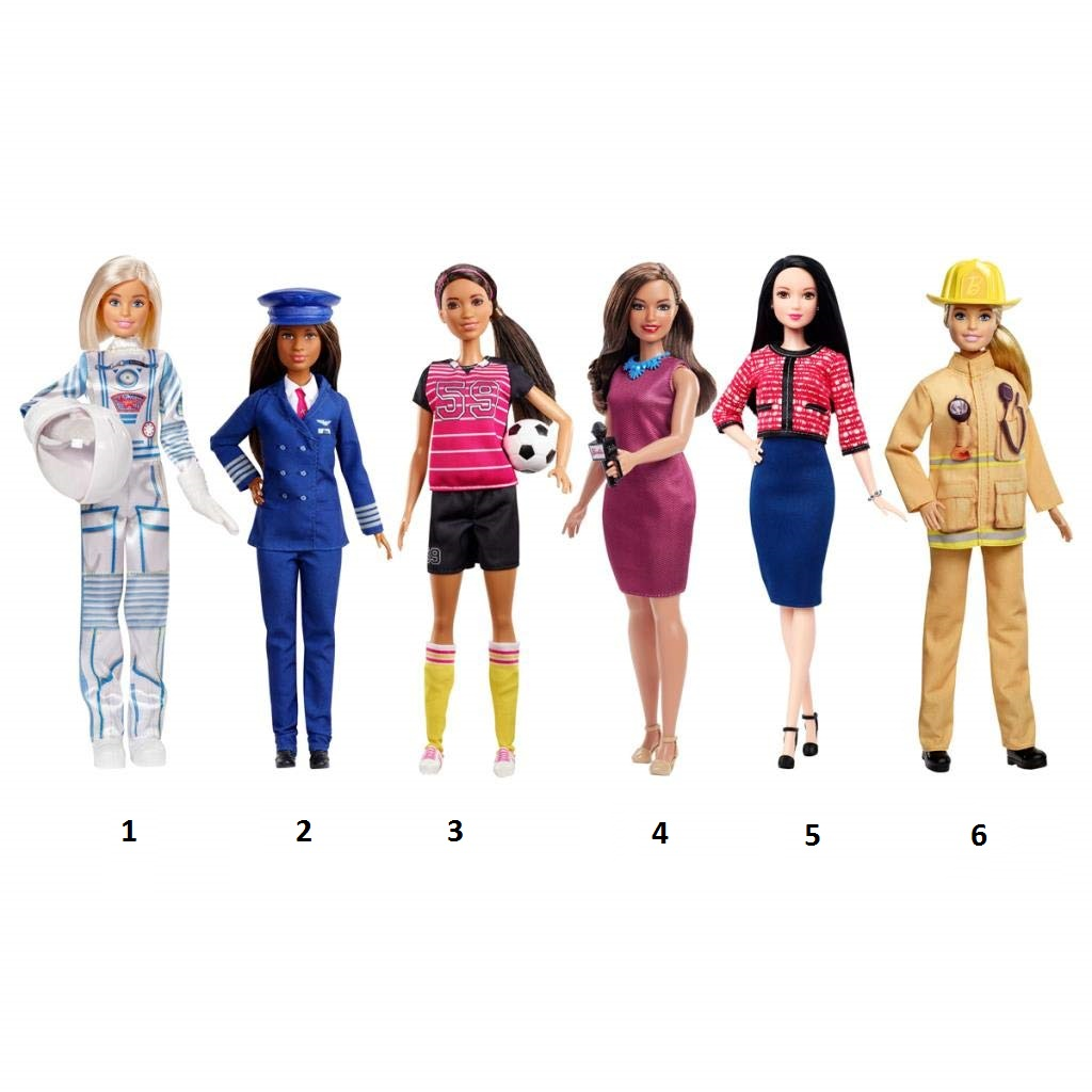 """Юбилейная кукла Барби """"Кем быть?"""""""