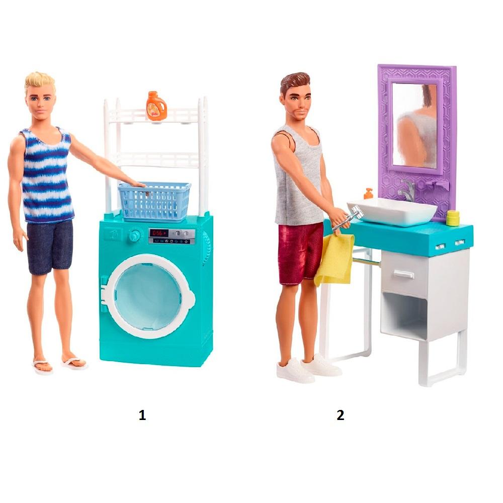 """Кукла """"Барби"""" - Кен с набором мебели"""