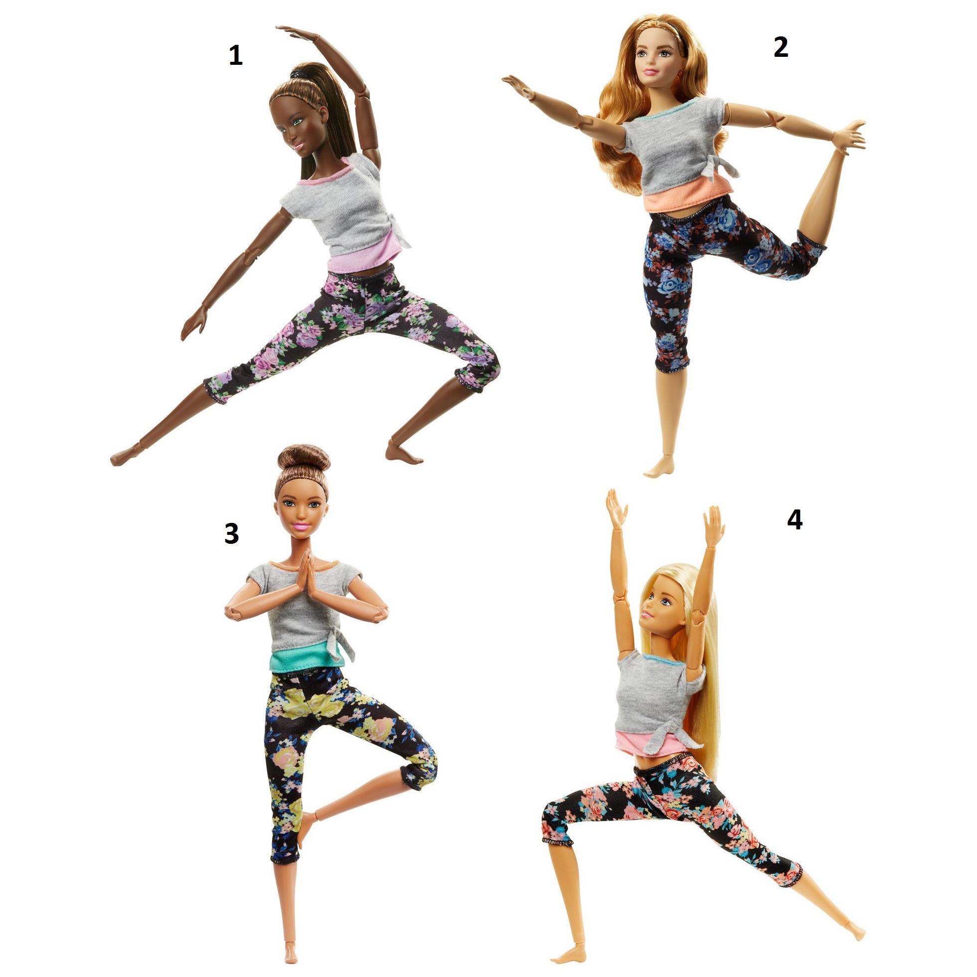 """Кукла Барби """"Безграничные движения: Двигайся как я"""""""