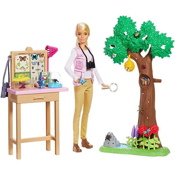 """Игровой набор """"Барби"""" Nat Geo - Исследователь бабочек"""