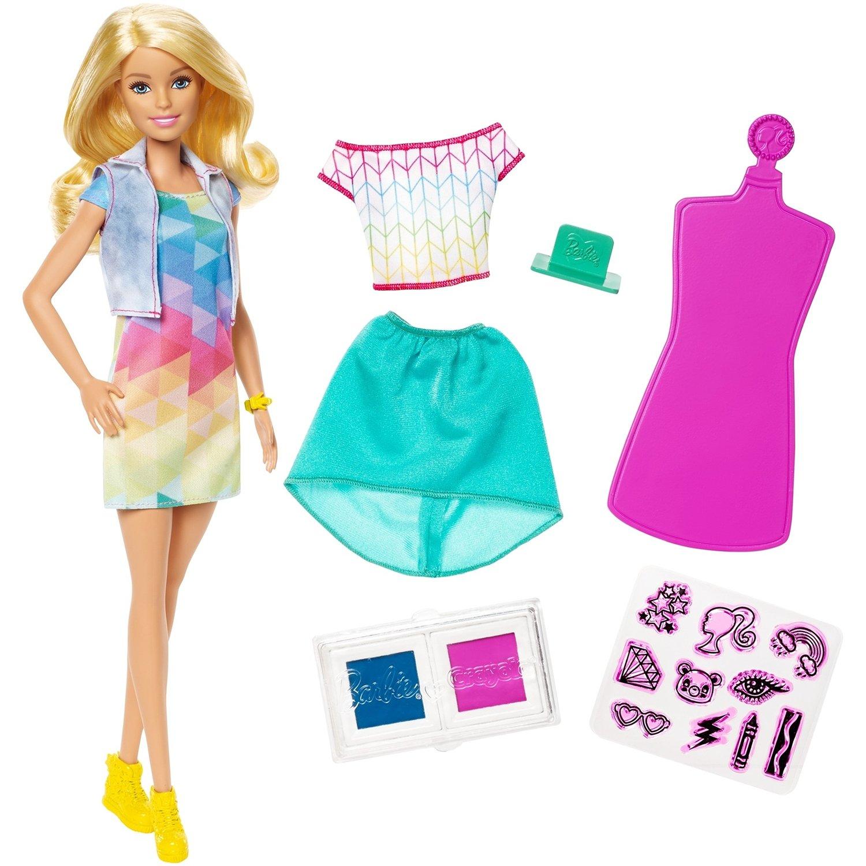 """Кукла Barbie Crayola """"Модные наряды"""""""
