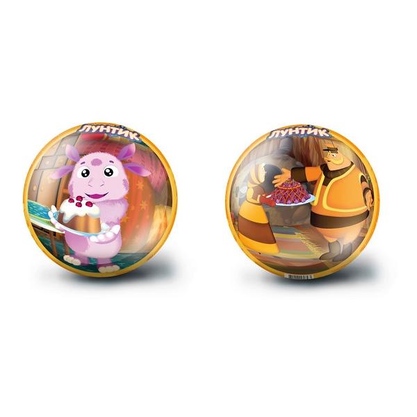 """Мяч """"Лунтик"""", оранжевый, 23 см"""