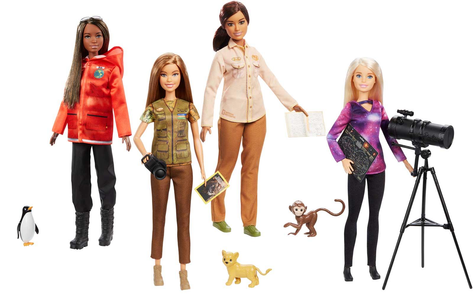 """Кукла """"Барби"""" Nat Geo - Исследователь"""