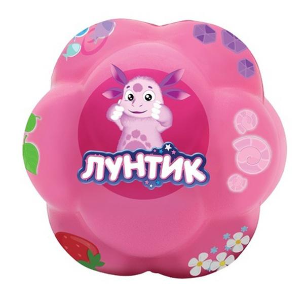"Супер-прыгающий мяч ""Бозагга"" - Лунтик, розовый, 7.5 см"