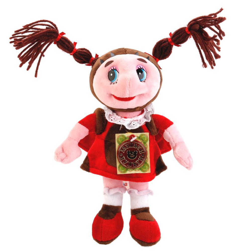 """Мягкая игрушка """"Божья коровка Мила"""" (звук), 23 см"""
