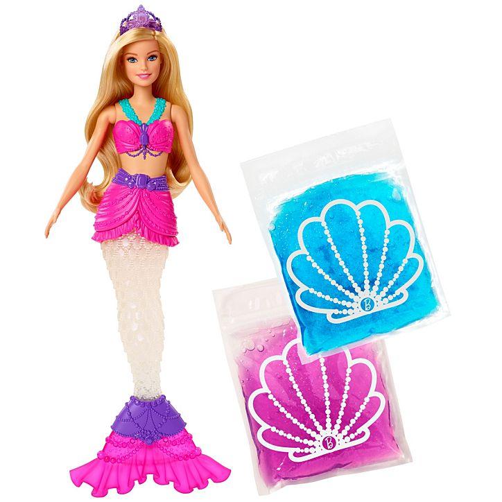 """Кукла """"Барби"""" - Русалочка со слаймом"""