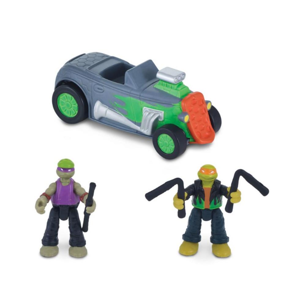 """Игровой набор """"Черепашки-ниндзя: Микро-мутанты"""" - Скоростной кабриолет"""