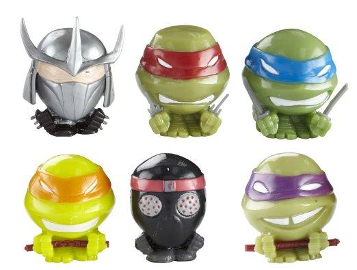 Игрушки-мялки Teenage Mutant Ninja Turtles, 6 штук в наборе