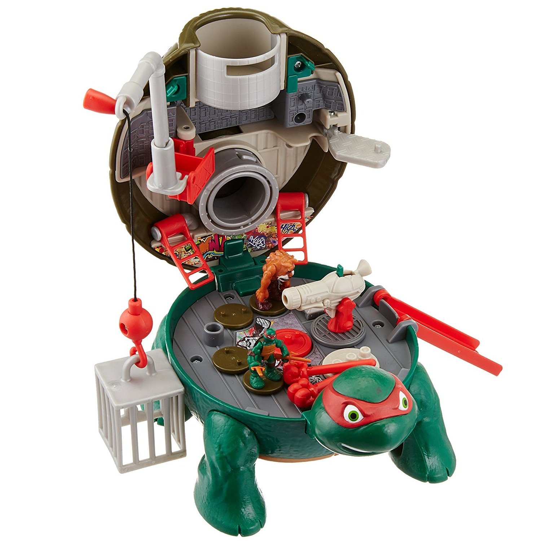"""Игровой набор """"Черепашки-ниндзя: Микро мутанты"""" - Рафаэль на крыше"""
