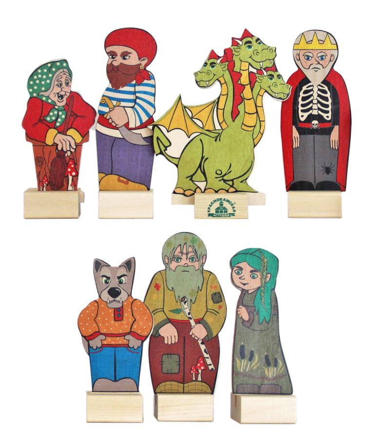Картинки персонажи кукольных театров