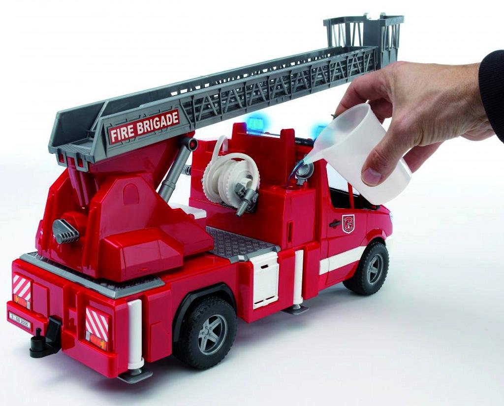 Игрушечная пожарная машина фото