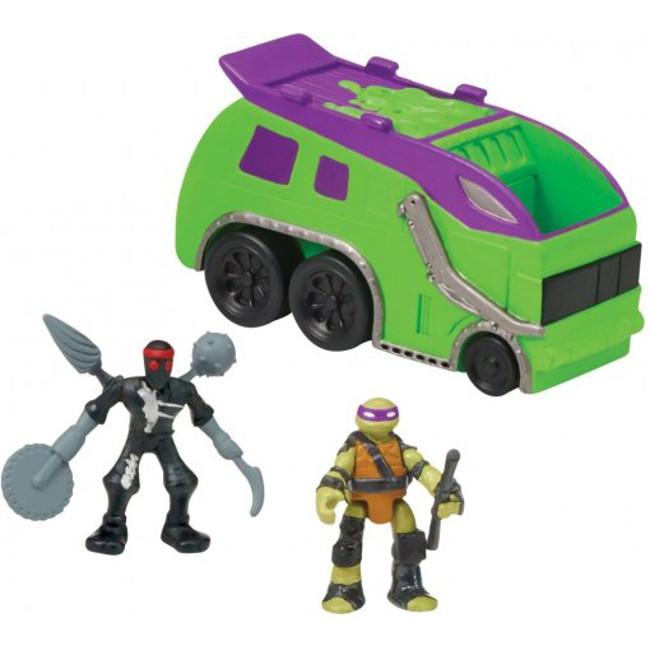 """Игровой набор """"Черепашки-ниндзя: Микромутанты"""" - Trash Truck"""